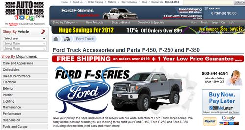 Auto Parts for Ford Trucks